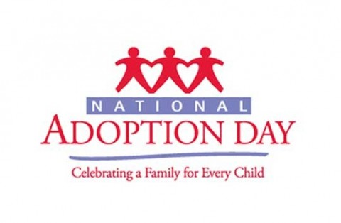 November 18 is National Adoption Day!