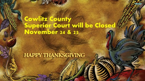 Court Closed for Thanksgiving
